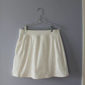 White Talbots Skort (Skirt with Built-in Shorts)